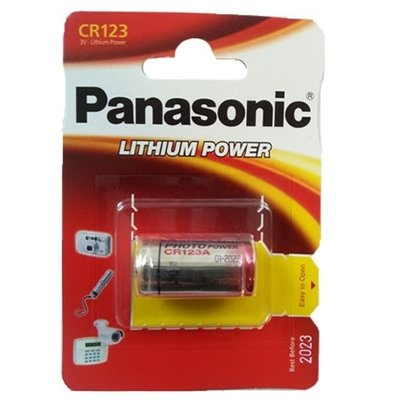 Panasonic CR123 lithium batterij 3 volt